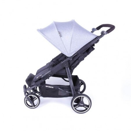 Easy Twin 3S Light Chassis Noir Poussette Double Réversible + Habillage Pluie Baby Monsters Baby Monsters - 15