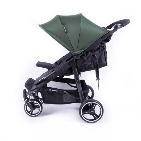 Easy Twin 3S Light Chassis Noir Poussette Double Réversible + Habillage Pluie Baby Monsters Baby Monsters - 72