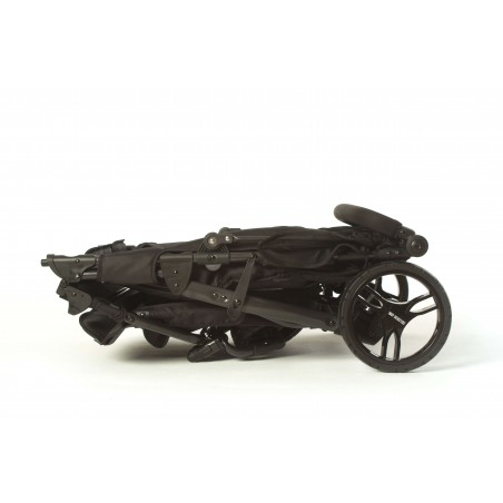 Easy Twin 3S Light Chassis Noir Poussette Double Réversible + Habillage Pluie Baby Monsters Baby Monsters - 128