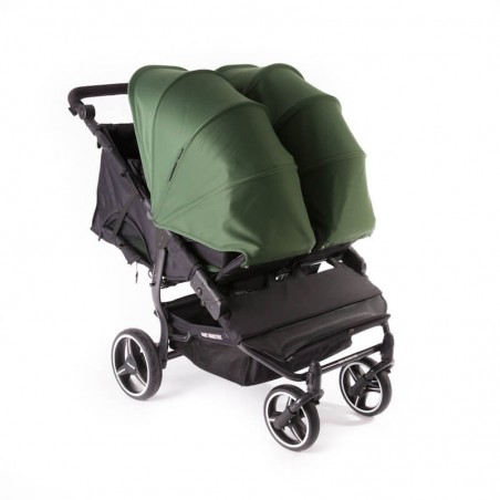 Easy Twin 3S Light Chassis Noir Poussette Double Réversible + Habillage Pluie Baby Monsters Baby Monsters - 101