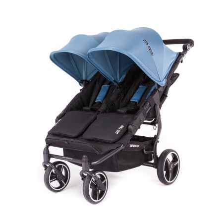 Easy Twin 3S Light Chassis Noir Poussette Double Réversible + Habillage Pluie Baby Monsters Baby Monsters - 108