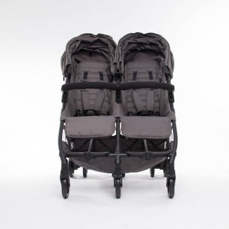 Nouvelle Poussette Double Compacte Kuki Twin Black Baby Monsters Baby Monsters - 62