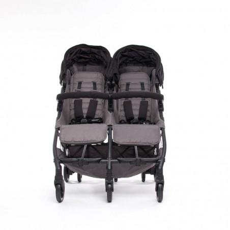 Nouvelle Poussette Double Compacte Kuki Twin Black Baby Monsters Baby Monsters - 73