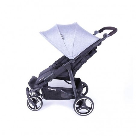 Pack Poussette Double Easy Twin 3S Light Châssis Black Baby Monsters + Coques Aton 5 Cybex Baby Monsters - 5