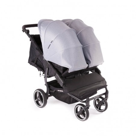 Pack Poussette Double Easy Twin 3S Light Châssis Black Baby Monsters + Coques Aton 5 Cybex Baby Monsters - 8