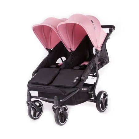 Easy Twin 3S Light Chassis Noir Poussette Double Réversible + Habillage Pluie Baby Monsters Baby Monsters - 111