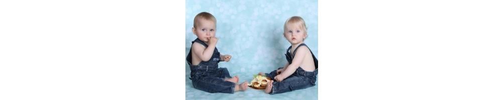 Repas bébés jumeaux : organisation repas, coffrets repas jumeaux