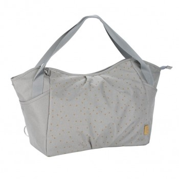 Sac à Langer Casual Twin Bag Triangle Gris Clair Lässig